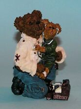 """Boyds Bears resin """"E. M. T. Bearsley.to the Rescue"""" #228416 caregiver Nib 2003"""