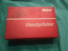 Weber Handprinter, Model No 1540 (Nib)
