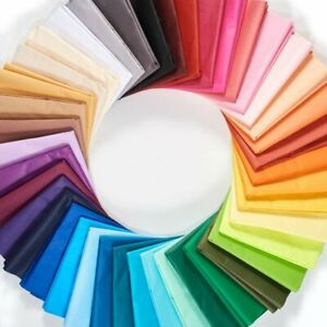 """Bulk Tissue Paper 15"""" X 20"""" 100 Pieces Sheets Packs Pom Gift Wrap Supply"""