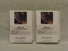 Maison Margiela 'Tea Escape' EDT Spray Vial Set of 2 - Fresh Inviting Scent NEW