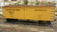 Roundhouse MDC Cudahay Car Lines 36' Meat  Reefer, Upgraded, Exc