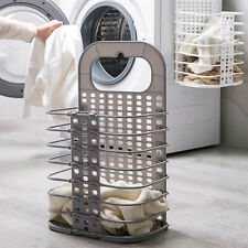 Foldable Laundry Hamper Clothes Storage Basket Bin Organizer Washing Basket