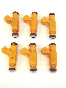 SET 6 BOSCH OEM FUEL INJECTOR 0280155900 1999-2001 EXPLORER MOUNTAINEER 4.0L V6