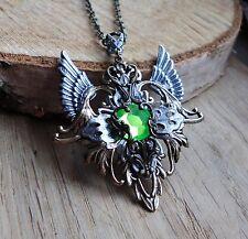 Amulett nugoth cyberpunk steampunk retro gothic elfe walküre valkyrie collier