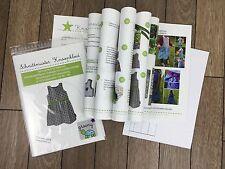 Schnittmuster + Nähanleitung mit Fotos *Knoopkleed* Kleid Mädchen Gr 80-164