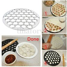 Aluminum Dumpling Ravioli Pierogi Pelmeni Mold Maker Kitchen Dough Press Cutter