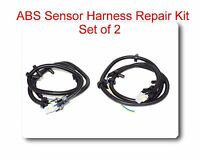 Set 2 Multi fit ABS Wheel Speed Sensor Wire Harness Plug Pigtail 10340315 for GM