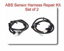 Set 2 Multifit ABS Wheel Speed Sensor Wire Harness Plug Pigtail 10340314 for GM