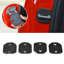 4x Car Door Striker Cover Lock Protector Antirust Case Fit For Ford Focus 2011+