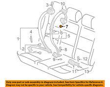 VW VOLKSWAGEN OEM 05-14 Jetta Rear Seat Belt-Center Seat Belt Nut N98990902