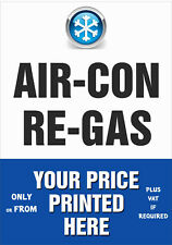 AIR CON RE-GAS POSTERS - waterproof/tearproof - A2, A1, A0 - we print your price