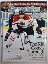 2010 TEAM CANADA GOLD OVER USA PITTSBURGH PENS SIDNEY CROSBY SPORTS ILLUSTRATED