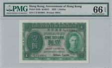 1.1.1952 GOVERNMENT OF HONG KONG KGVI $1 **RARE** (( PMG 66 EPQ ))