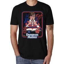 Dungeon Master Funny Men's T-shirt Ringer Cotton White Short Sleeve Tops Tee