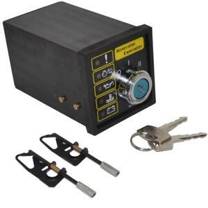 501K Manual Start Generator Controller Board Key Start Generator Control Module