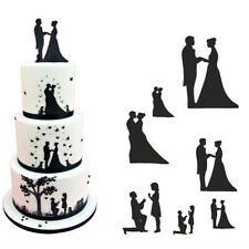 Patchwork Cutter WEDDING SILHOUETTE Set TORTA DECORAZIONE SUGARCRAFT strumento di taglio