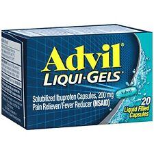 Advil 200 mg Liqui-Gels 20 Liqui-Gels Each