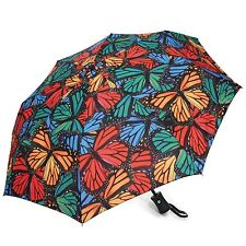 Passion for Fashion Multi Mosaic Butterfly Collapsible Umbrella HF1423