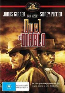 Duel At Diablo DVD Sidney Poiter James Garner New & Sealed Australian Release