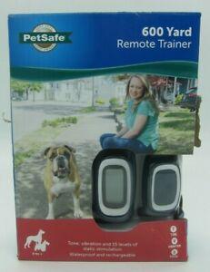 PetSafe 600 Yard Remote Trainer waterproof static sound vibration correction