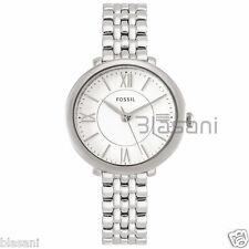 Fossil Original ES3797 Women's Jacqueline Mini Silver Stainless Steel Watch 26mm