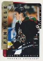 1996-97 Be A Player BAP Autograph AUTO Hockey Cards Pick From List
