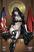 GRIMM FAIRY TALES - RED AGENT ISLAND DR MOREAU #3 - AWESOME CON SEXY JUDGE COVER