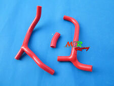 RED Silicone Radiator Y Hose kit for 2009 2010 2011 HONDA CRF450 CRF 450 R