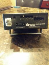 FEDERAL SIGNAL SMART SIREN/ PA AMPLIFIER  W/  LIGHT CONTROLLER