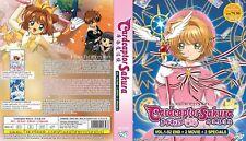 ANIME DVD~ENGLISH DUBBED~Cardcaptor Sakura+Clear Card-Hen(1-92End)FREE SHIP+GIFT