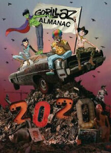 NEW Gorillaz Almanac By Gorillaz Hardcover Free Shipping