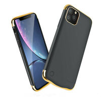 External Battery Case for iPhone 11 pro,max 5500/6000mAh best quality in colours