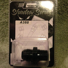 """NEW  Mr. Gasket Shadow Series A388 Pipe to AN Straight 3/8"""" to -8"""