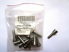 "Lot Of 10 Chudnow Female Flare Hose Nipple Fitting 1/4"" Ff x 3/16"" Brb S21-34"