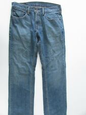 Levi's 559 Jeans Size W31 L32 Blue Mens Straight Denim Zipper Fly