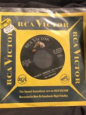 1959 The Browns 45 RPM Record Scarlet Ribbons 47-7614 Blue Bells Ring Vtg 50s