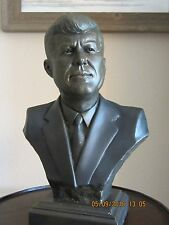KENNEDY COLD CAST BRONZE BUST   ONE LEFT Reduced