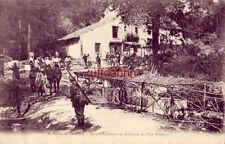 FRANCE. AU BOIS-LE-PRETRE. MAISON FORESTIERE ET FONTAINE DU PERE HILARION 1919