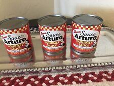 Sauce Arturo Gourmet Sauce with Mushrooms (8 Oz) Cans (3 Pack)