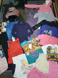 #736 Huge Bundle Of Girls Clothes 11-12years GEORG NEXT RIVER TOPSHOP PRIMARK M&