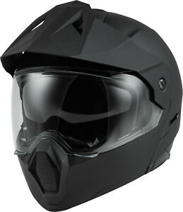 Fly Racing Odyssey Adventure Modular Helmet Lg Matte Black 73-8331LG