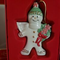 LENOX 2011 Annual GINGERBREAD Ornament Special Spiced Delivery