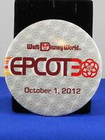 Walt Disney World EPCOT 30TH ANNIVERSARY October 1, 2012 Attendee Button