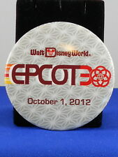 Walt Disney World EPCOT 30TH ANNIVERSARY October 1, 2012 Attendee Button