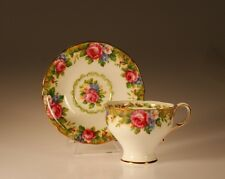 "Paragon"" Tapestry Rose"" Corset Shape Cup and Saucer, Made In England"