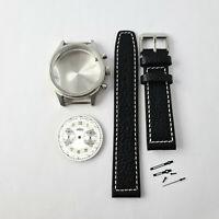 ANGELUS - Chronograph ETA Valjoux 7733 - Uhrenkit / Bausatz Uhrengehäuse Case