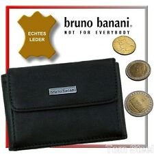 BRUNO BANANI SMALL COIN PURSE BLACK, COINS PURSE, PURSE, WALLET NEW