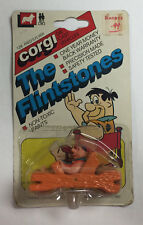 FRED'S FLYER FLINTSTONES TOY DIE-CAST CAR HALF-SEALED CORGI 1982