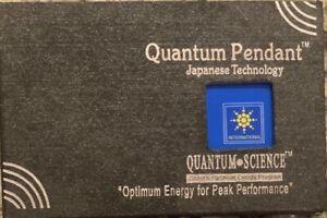 Quantum Pendant Japanese Original 9000-10000 ions