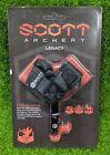 Scott Archery Legacy Bow Hyper Jaw Release Aid, Black, Leather - 5003BS-BK